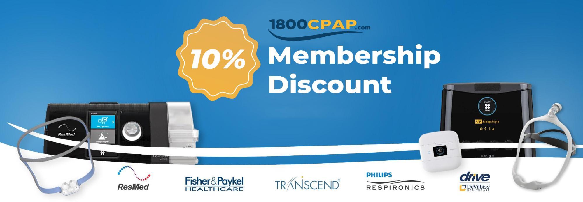 10% membership discount